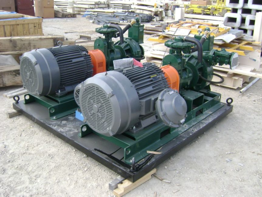 Jockey Pumps used in a Stormwater Pumping System