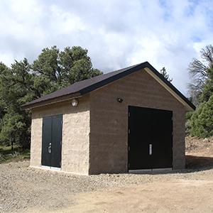 Romtec Utilities Control Building