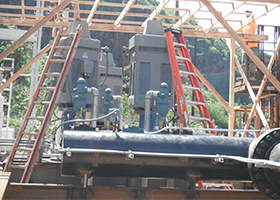 Installation of Complete Pump Stations