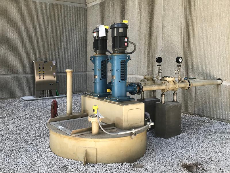 Radar Level Sensor in Industrial Pumping System