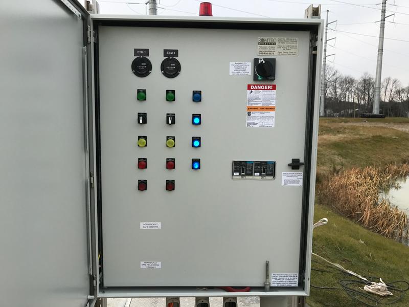 Alternator Relay Control Panel for Duplex Pumping Application