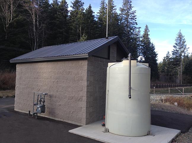 Snoqualmie Ridge II Control Building and Odor Control Tank