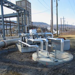 acetic-acid-pumping-system-for-industrial-plant