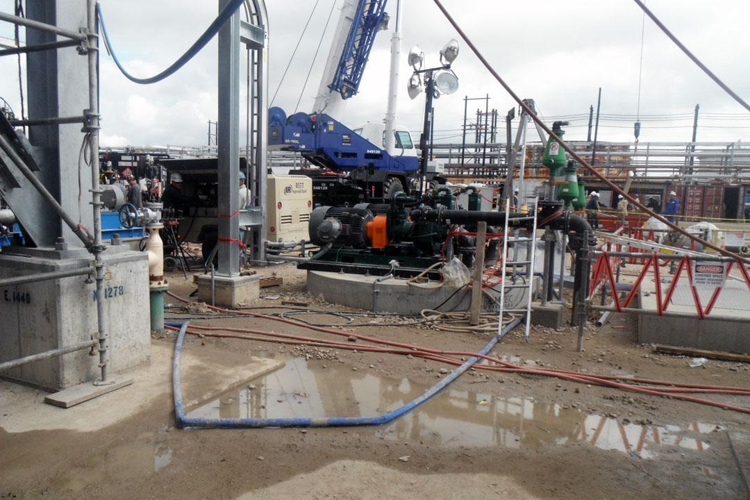 Pumping Skid for Managing Liquid Nitrogen Gas