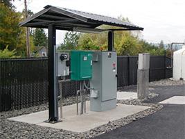 2 Post Steel Shelter