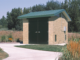 Park Equipment and Control Building