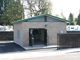 Pump Station Control Building