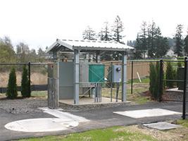 Steel 4 Post Shelter