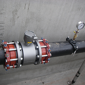 Flow Meter in a Romtec Utilities System