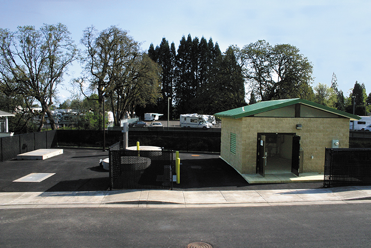 Wastewater Lift Station for a RV Park