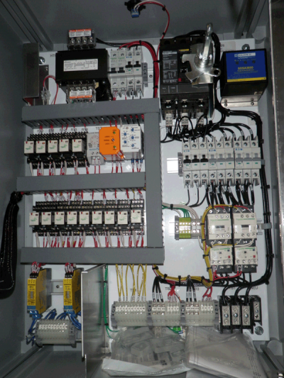 Electrical Controls Configuration for Control Panel
