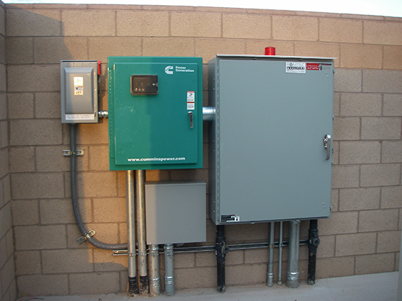 Control Panel For Wastewater Lift Station