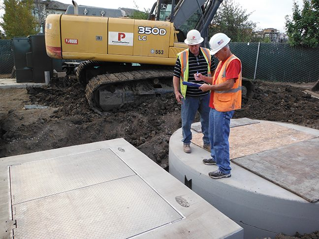 Romtec Utilities Employees are Experts at Pump and Lift Stations