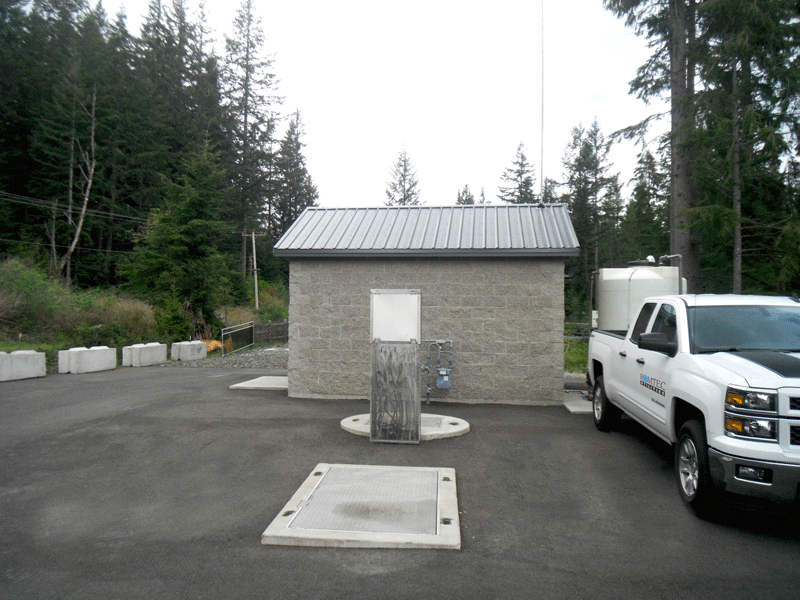 Wastewater LIft Station with Integrated Control Building
