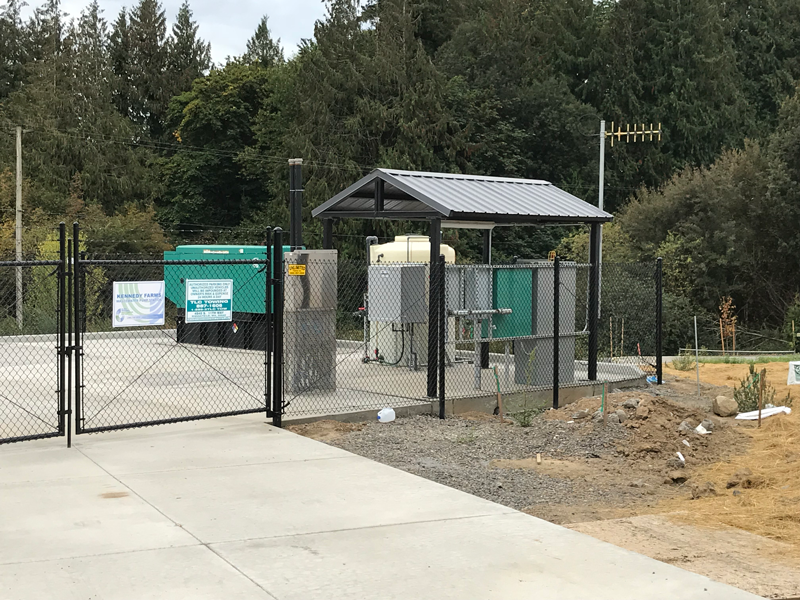 Municipal Lift Station with Chemical Feed Odor Control System