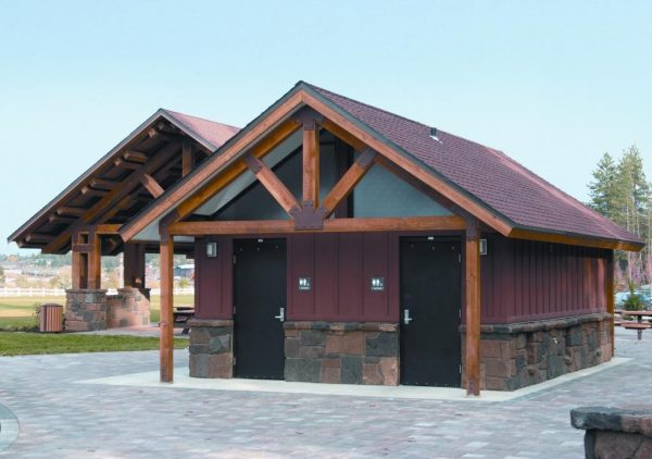 Matching Restroom and Pavilion